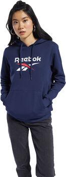 Reebok Big Logo hoodie Dames Blauw