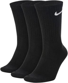 Nike Everyday Lightweight Crew sokken (3 paar) Zwart