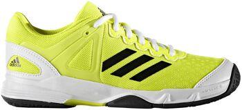 Adidas Court Stabil jr indoorschoenen Jongens Geel