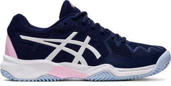 Asics GEL-Resolution 8 Clay tennisschoenen Jongens Blauw