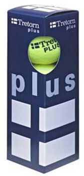 Tretorn Plus 3-pack tennisballen Geel