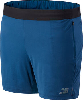 New Balance Speed Fuel short Heren Blauw