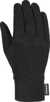 Reusch Primaloft Silk Liner Touch-Tec handschoenen Zwart