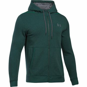 Under Armour Threadborne hoodie Heren Groen