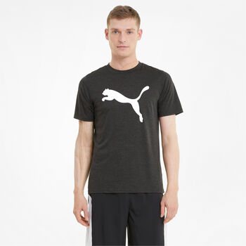 Puma Train Fave Heather t-shirt Heren Grijs