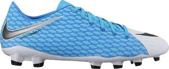 Nike Hypervenom Phelon III FG voetbalschoenen Wit