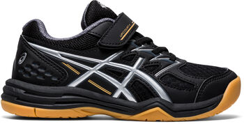Asics Upcourt 4 PS indoorschoenen kids Jongens Zwart