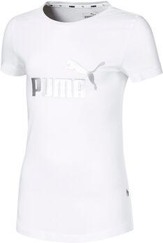 Puma Essentials shirt Meisjes Wit