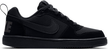 Nike Court Borough Low (GS) sneakers Jongens Zwart