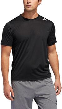adidas FreeLift Sport Fitted 3-Stripes shirt Heren Zwart