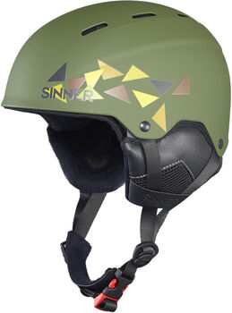 Sinner Poley helm Dames Groen