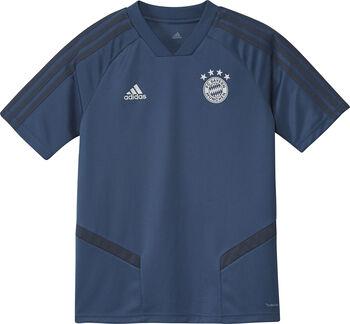ADIDAS FC Bayern München jr training shirt 2019-2020 Jongens Blauw