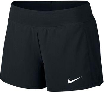 Nike Court Flex Pure Tennis short Dames Zwart
