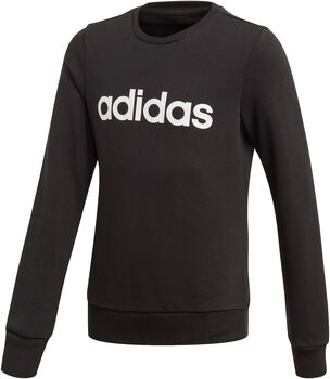 ADIDAS Linear sweater Jongens Zwart