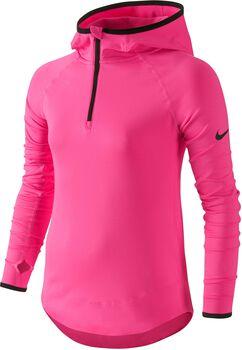 Nike pro hyperwarm 3.0 1/2z yth Jongens Rood