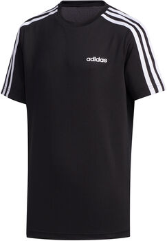 ADIDAS 3-Stripes shirt Jongens Zwart