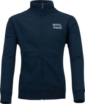 RUSSELL Zip Through vest Heren Blauw