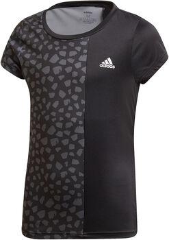adidas Colorblock t-shirt Meisjes Zwart