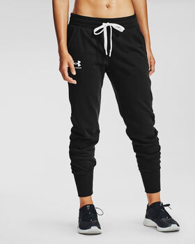Under Armour Rival Fleece broek Dames Zwart