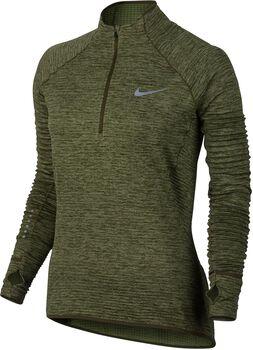 Nike Sphere Half Zip longsleeve Dames Groen