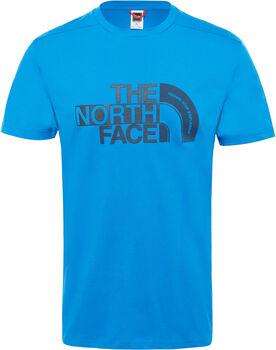 The North Face Extent P8 Logo shirt Heren Blauw