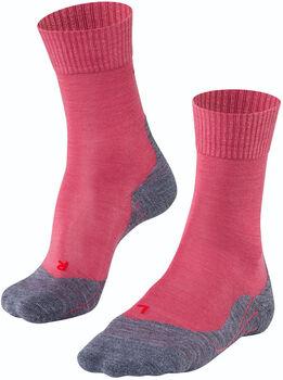 Falke TK5 sokken Dames Rood