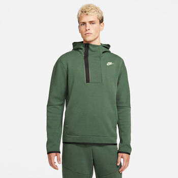 Nike Sportswear Tech Fleece hoodie Heren Groen