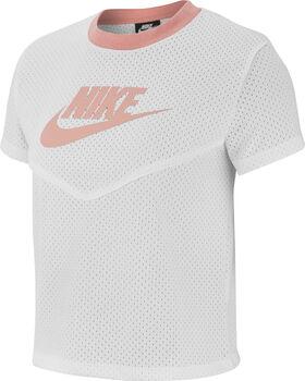 Nike Sportswear Heritage Mesh shirt Dames