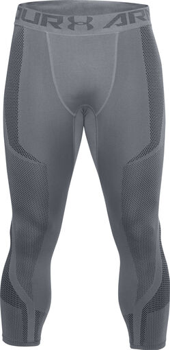 Under Armour - Threadborne Seamless capri - Heren - Tights - Grijs - L