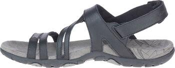 Merrell Sandspur Rose Convert sandalen Dames Zwart