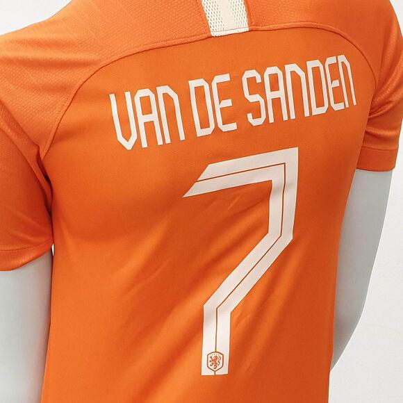 Nederland jr thuisshirt Van de Sanden