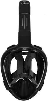 Atlantis 3.0 stealth l/xl snorkelmasker Zwart