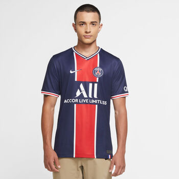 Nike Paris Saint-Germain Stadion 2020/21 Thuisshirt Blauw