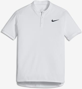 Nike Court Advantage polo Jongens Wit