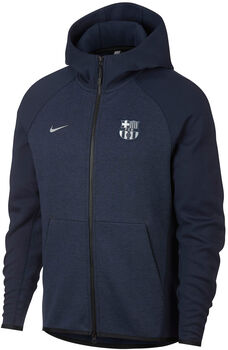 Nike FC Barcelona Tech Fleece hoodie Heren Blauw
