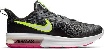 Nike Air Max Sequent 4 sneakers Jongens Zwart