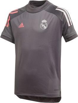 adidas Real Madrid Training kids shirt 20/21 Jongens Grijs