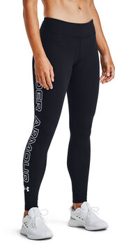 Under Armour Favorite Wordmark tight Dames Zwart