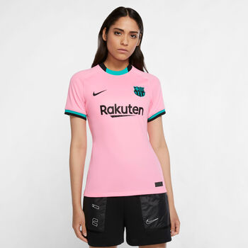 Nike FC Barcelona Stadium Derde shirt Dames Rood