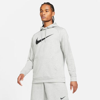 Nike Dri-FIT sweater Heren Grijs