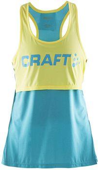 Craft Pure Light top Dames Blauw