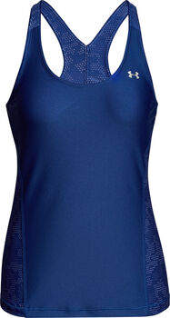 Under Armour HeathGear Armour Fashion top Dames Blauw