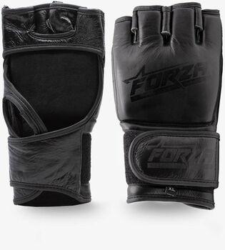 Forza Genuine Leather MMA handschoenen Heren Zwart