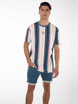 Protest Earvin short Heren Blauw