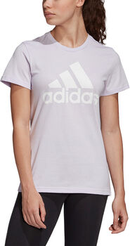 adidas Must Haves Badge of Sport T-shirt Dames Paars