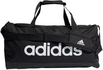adidas Essentials Logo Duffeltas Medium Heren Zwart