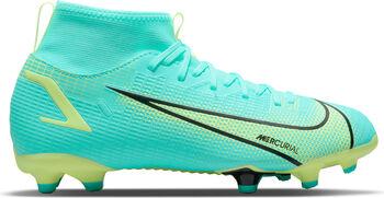 Nike Mercurial Superfly 8 Academy FG/MG kids voetbalschoenen Blauw