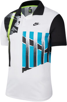 Nike Court Advantage polo Heren Wit