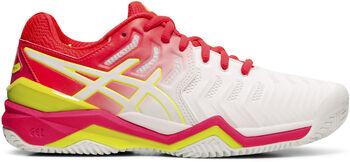 Asics GEL-Resolution 7 Clay tennisschoenen Dames Wit