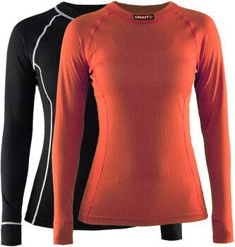 Craft Active Long Sleeve shirt (2 paar) Dames Zwart